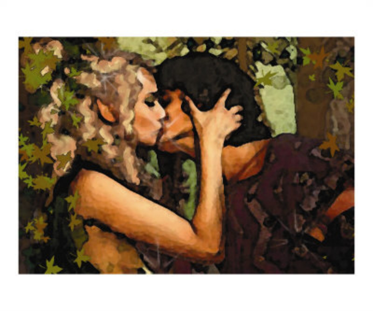 Kiss of the Dryad by Oliver Grey