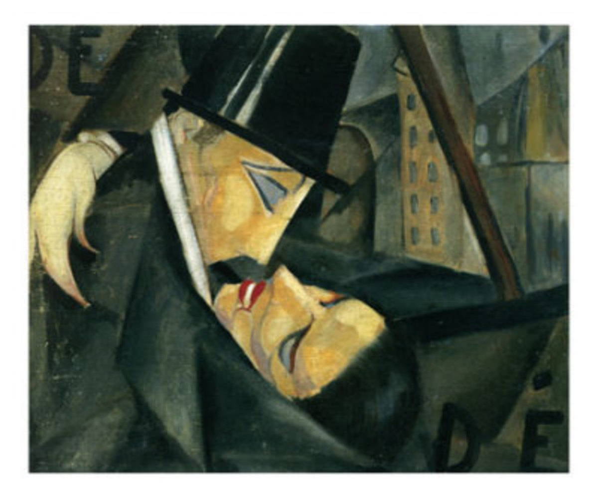 The Kiss by Tamara de Lempicka