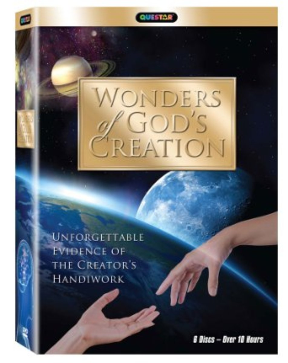 Wonders of God's Creation DVD series - Image is from amazon.com