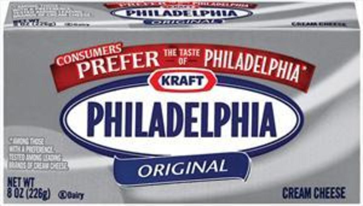 Philadelphia Brand Cream Cheese!