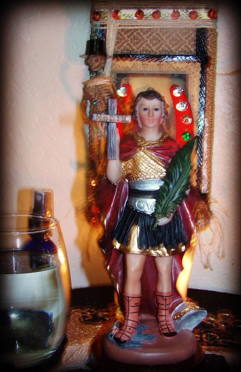 St Expedite Copyright 2014 Denise Alvarado All rights reserved worldwide