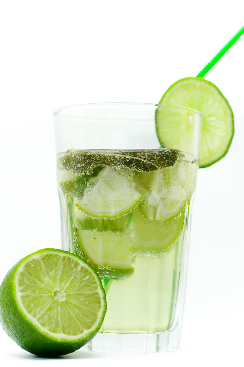 Limeade.  A very common refreshment that helps cope with the hot days during the summer in Costa Rica.