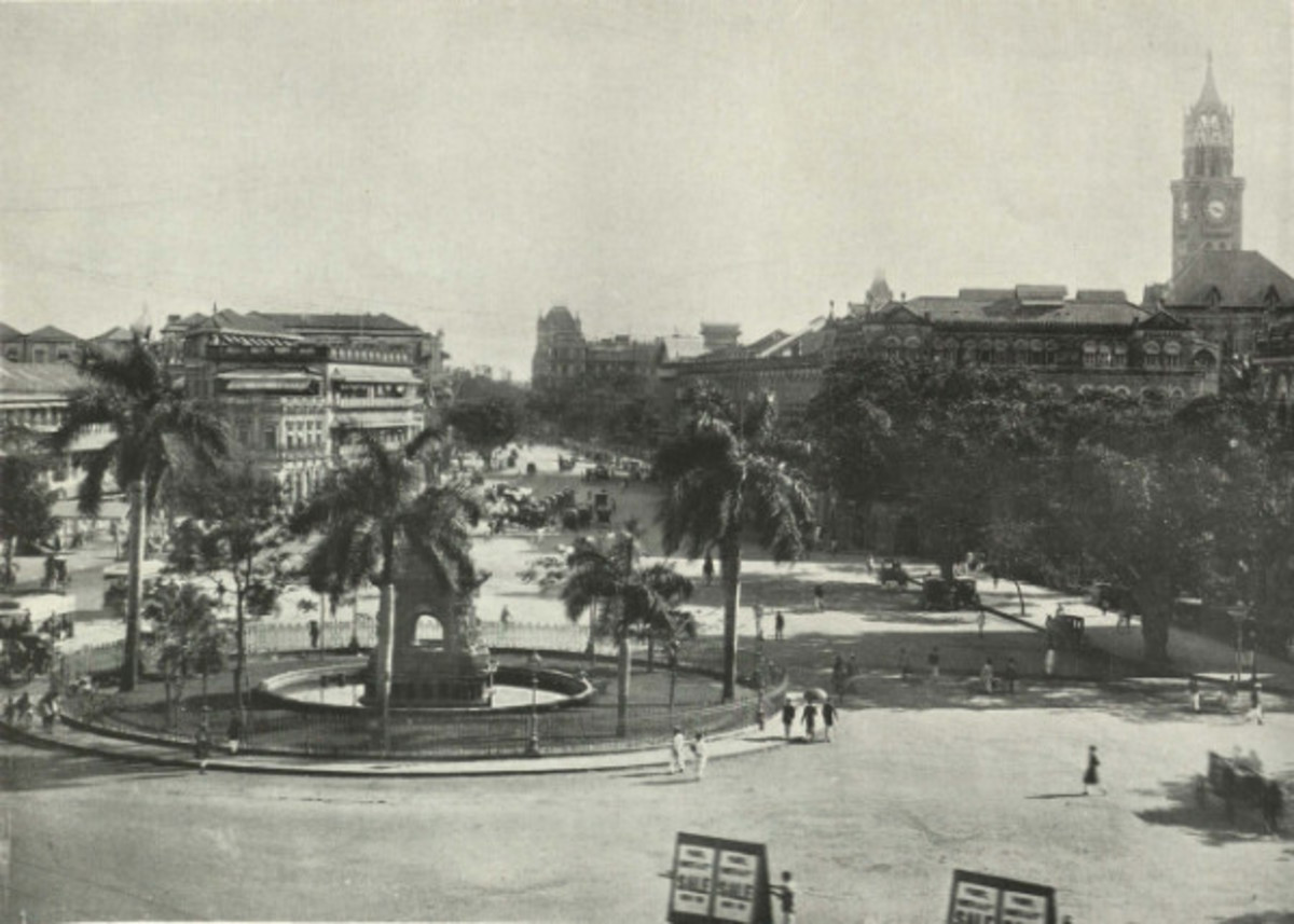 flora fountain of yore - in 1905