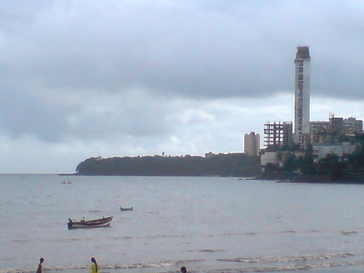 a view of malabar hill