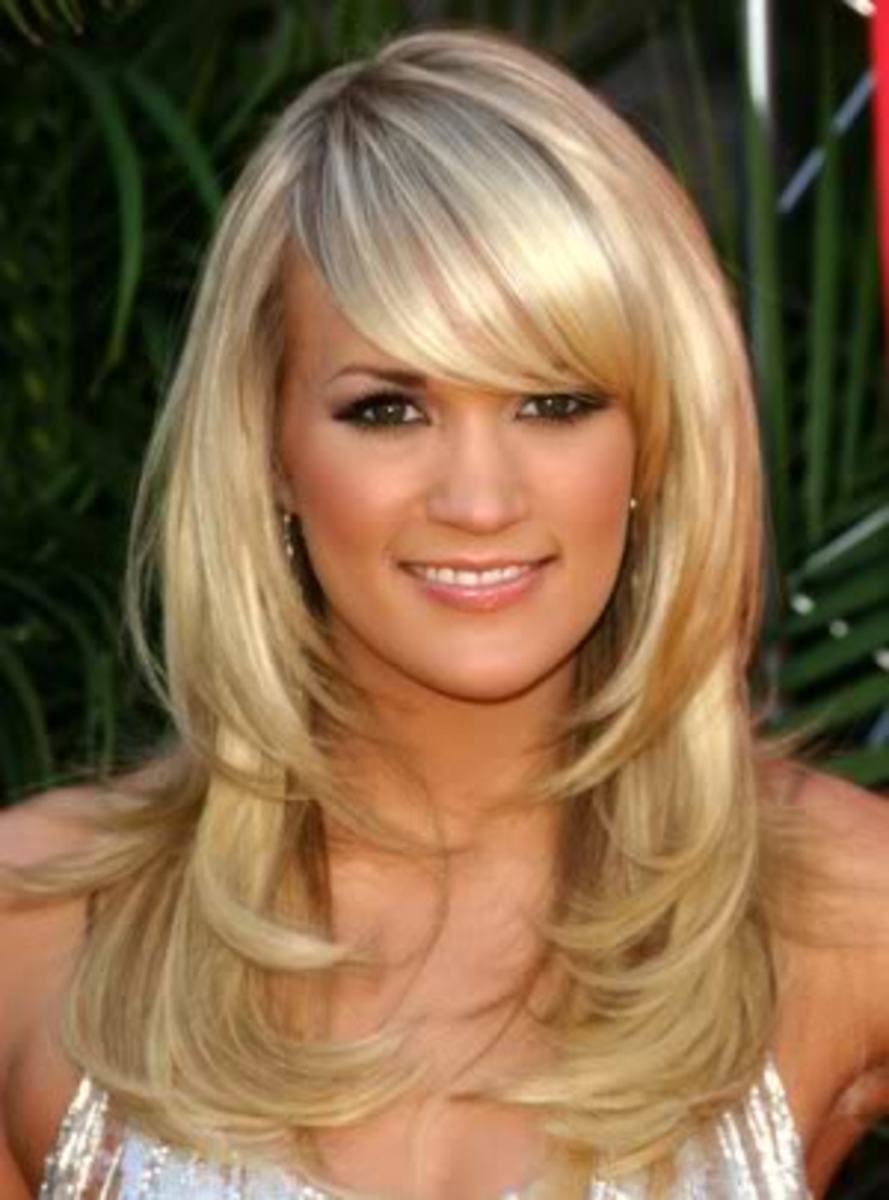 Carrie Underwood hairstyle.