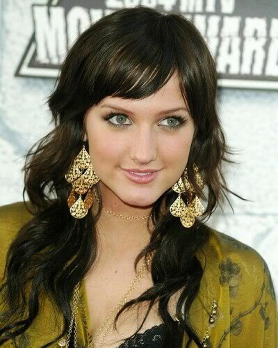 Ashlee Simpson hairstyle.