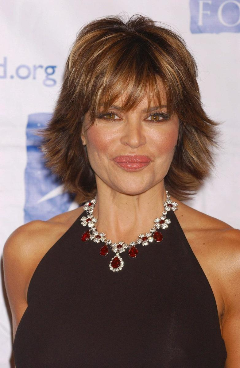 lisa rinna hairstyles how to cut