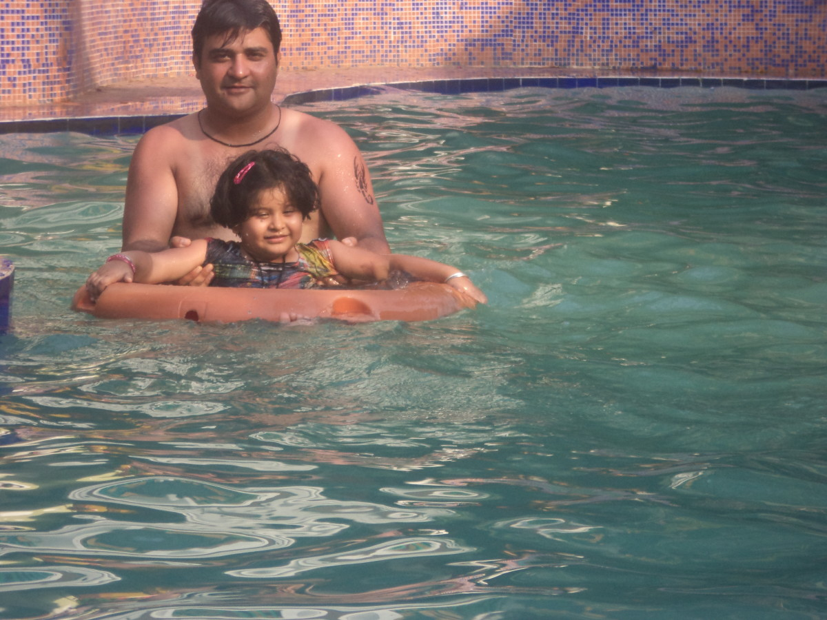 My with my daughter Shronika.
