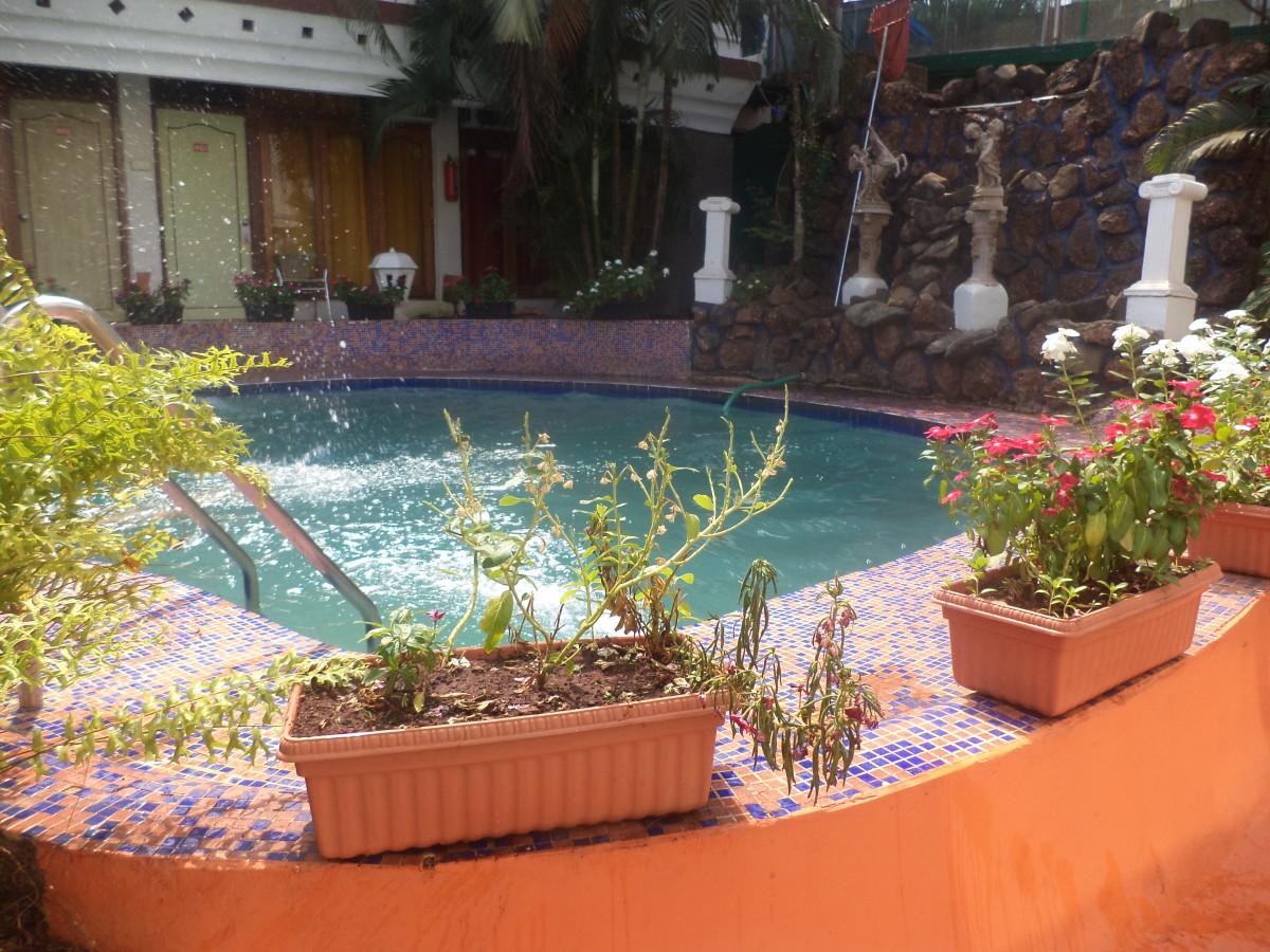 Beautiful swimming pool at Estrela do Mar Beach Resort