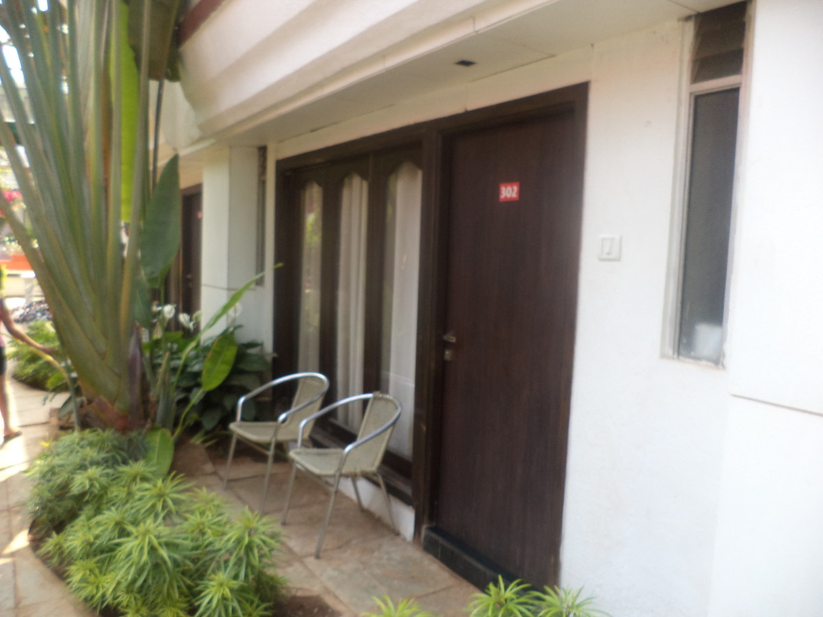 Resort rooms on the ground floor at Estrela do Mar Goa.