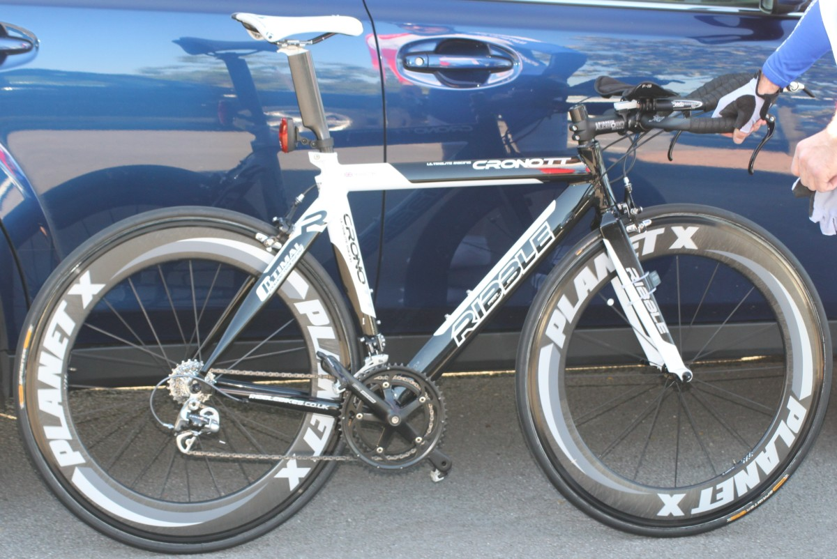 Any bike can help you understand bicycle anatomy. A time trial bike has pretty much the same components as any other bike with a few differences for aerodynamic advantage