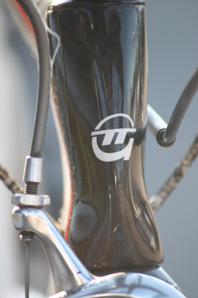 The headtube of your bicycle houses the bearing races to allow the forks to turn and steer your bike. Pictured is the headtube of a Teschner TT Bike