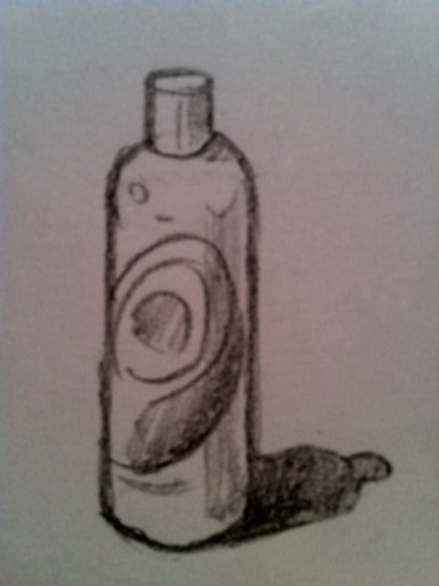 How To Draw A Shampoo Bottle Hubpages