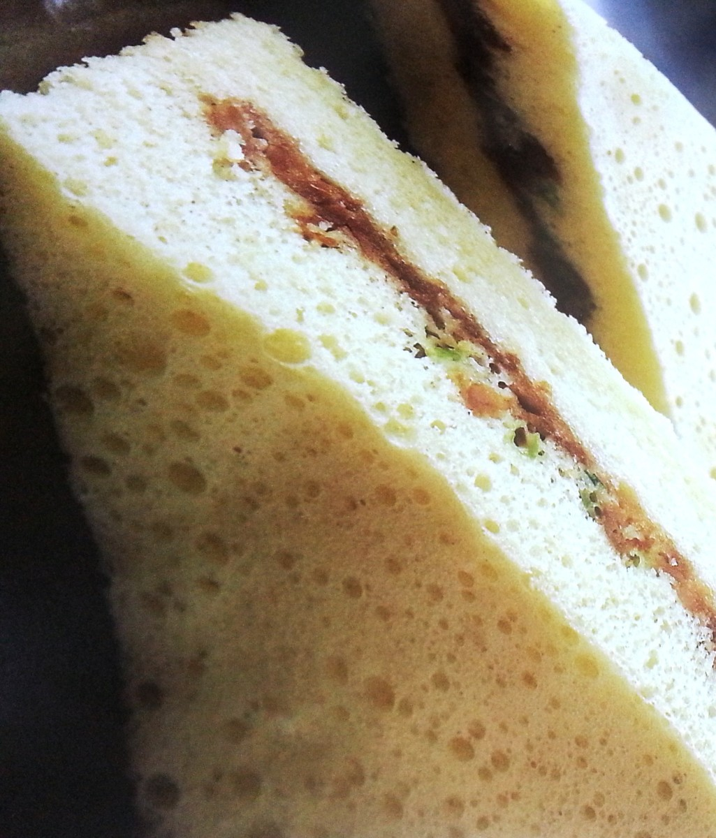 Steamed Cake with Meat Filling Recipe – Cake without butter or Margarine, Healthy and Delicious !