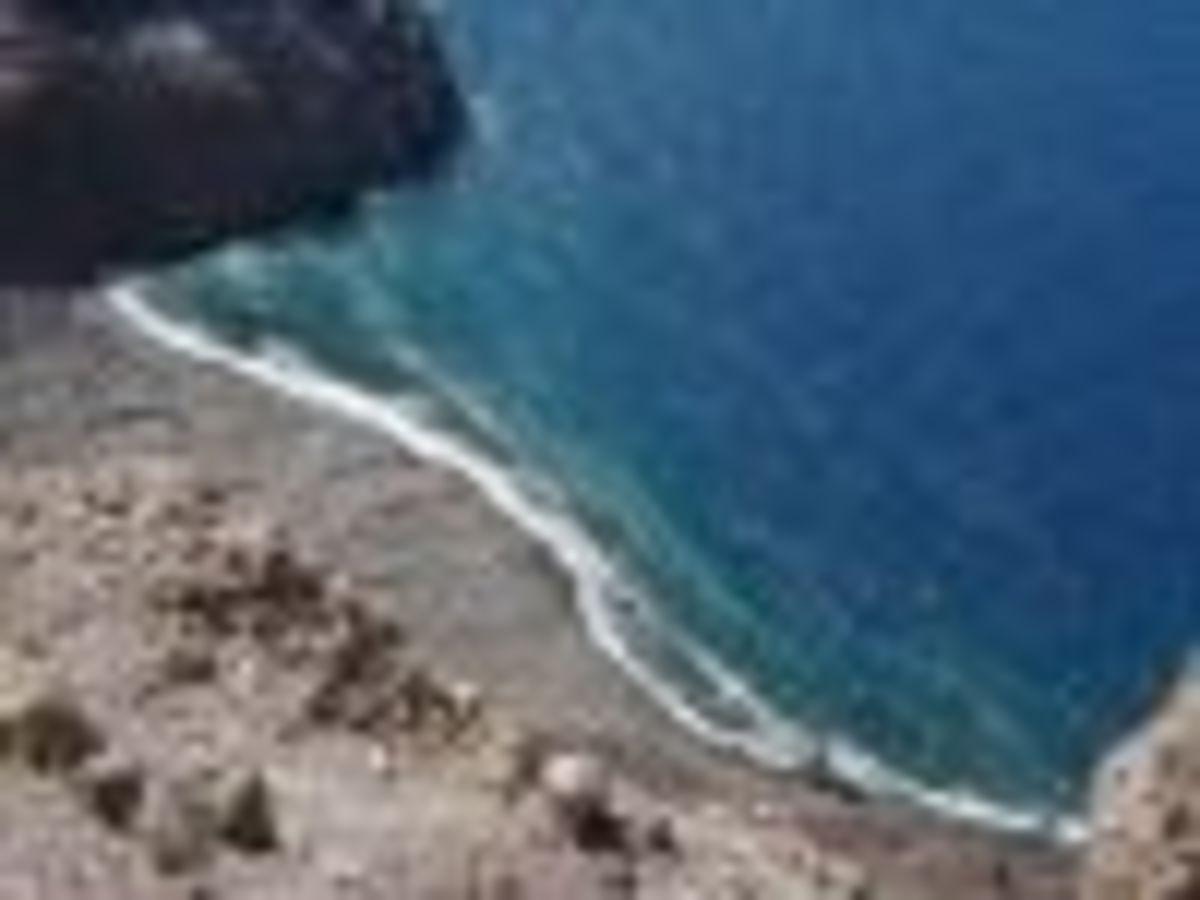 Spires beach, Ascension Island