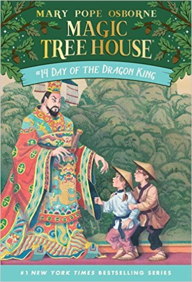 Day of the Dragon King by Mary Pope Osborne