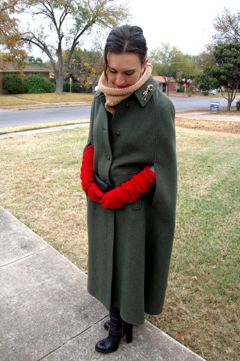 with the sound of Hugo Boss designer wear Nazi boots goostepping... Mr. Von Trapp, however, seems to have given his Austrian Loden Cape to some Texan Lady. What to do about Maria?
