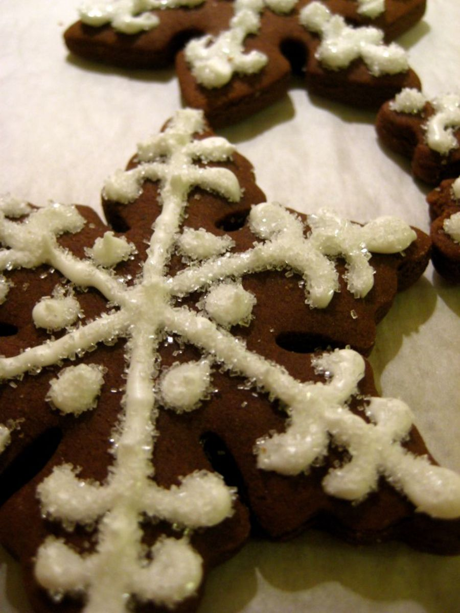 Molasses Flavored Cookies