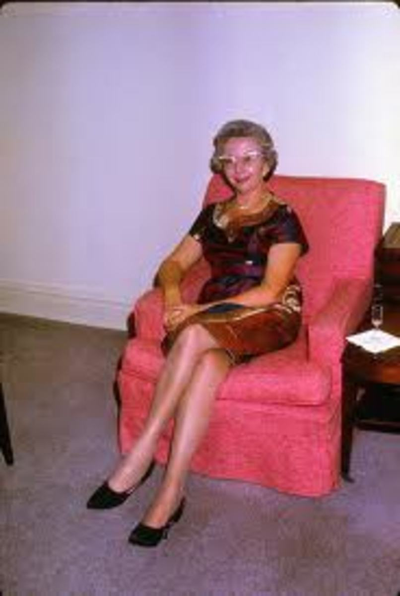 From the 1900s-mid-1970s, there was an unwritten expectation that middle aged & older women tone down their fashion attire.  Yes, she could be attractive but NOT sexy. That was the purview of YOUNGER women only.