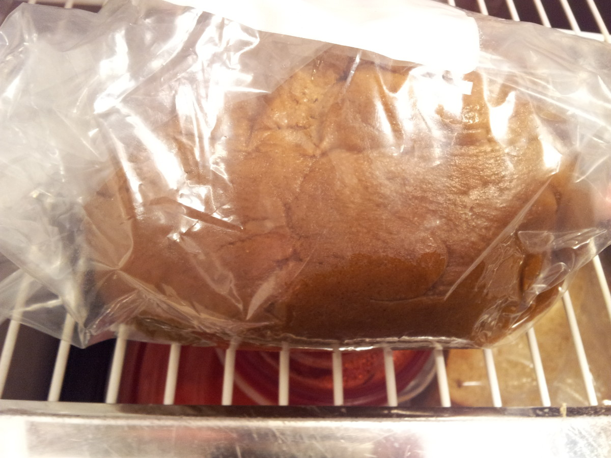 Seal the bag or wrap the dough well in plastic wrap, then refrigerate for 30 minutes.