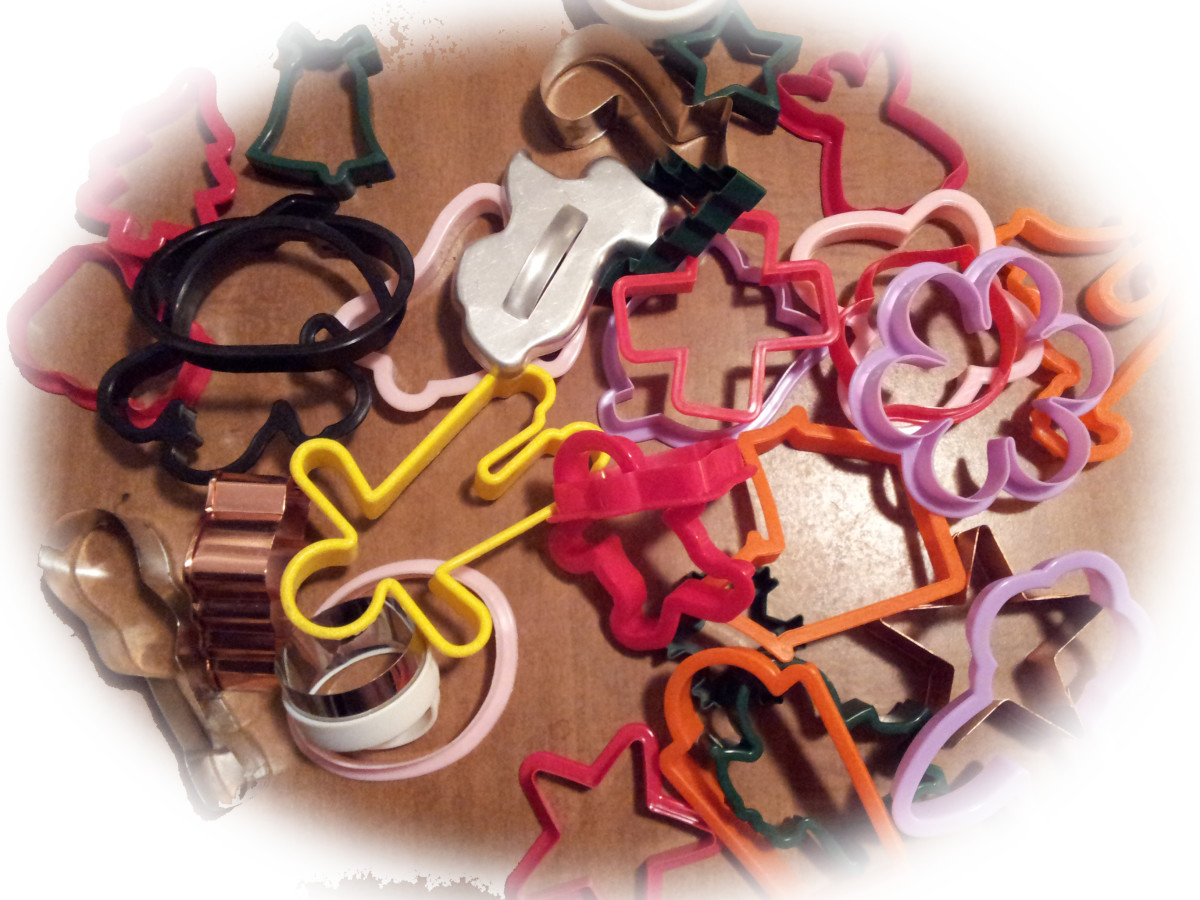 A collection of Cookie Cutters for All Occasions