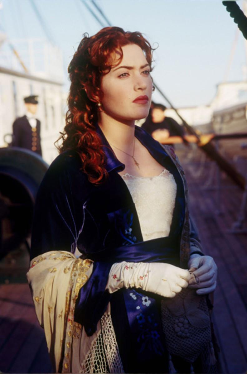 Kate Winslet als Rose ...