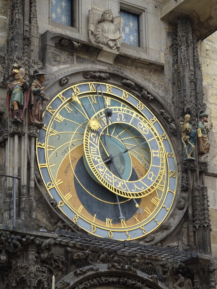 The famous Prague Astronomical Clock