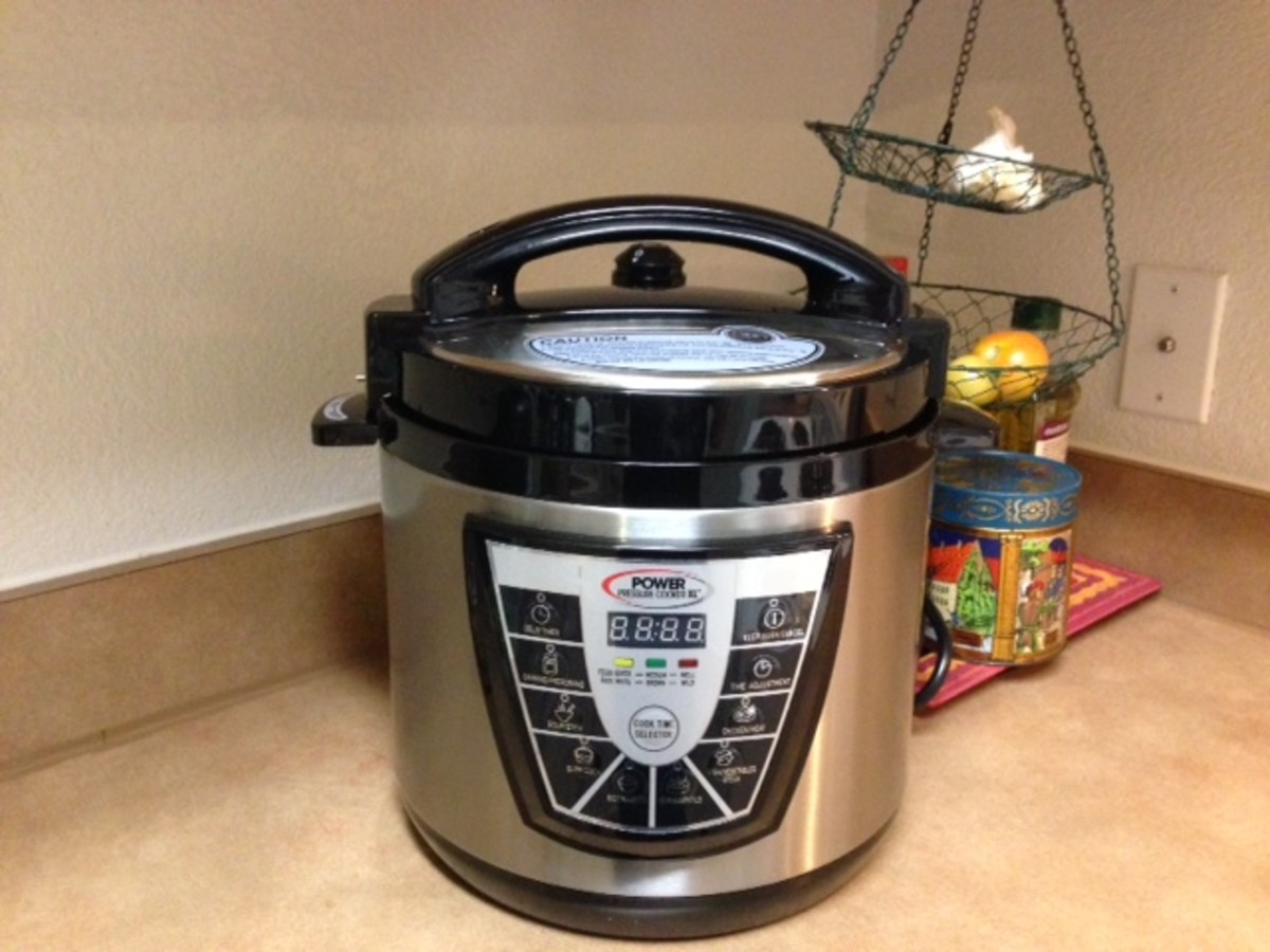 Cooks in 25 minutes with the Power Pressure Cooker XL