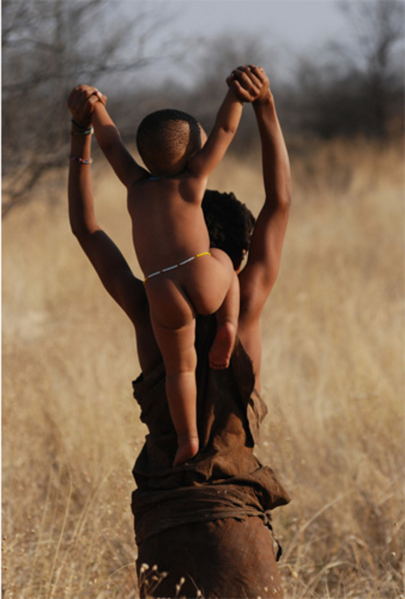 Rituals The central theme of almost all Khoikhoi ritual was the idea of transformation, or transition from one state to another. Most rituals marked the critical periods of change in a person's life - birth, puberty, adulthood, marriage and death. Th