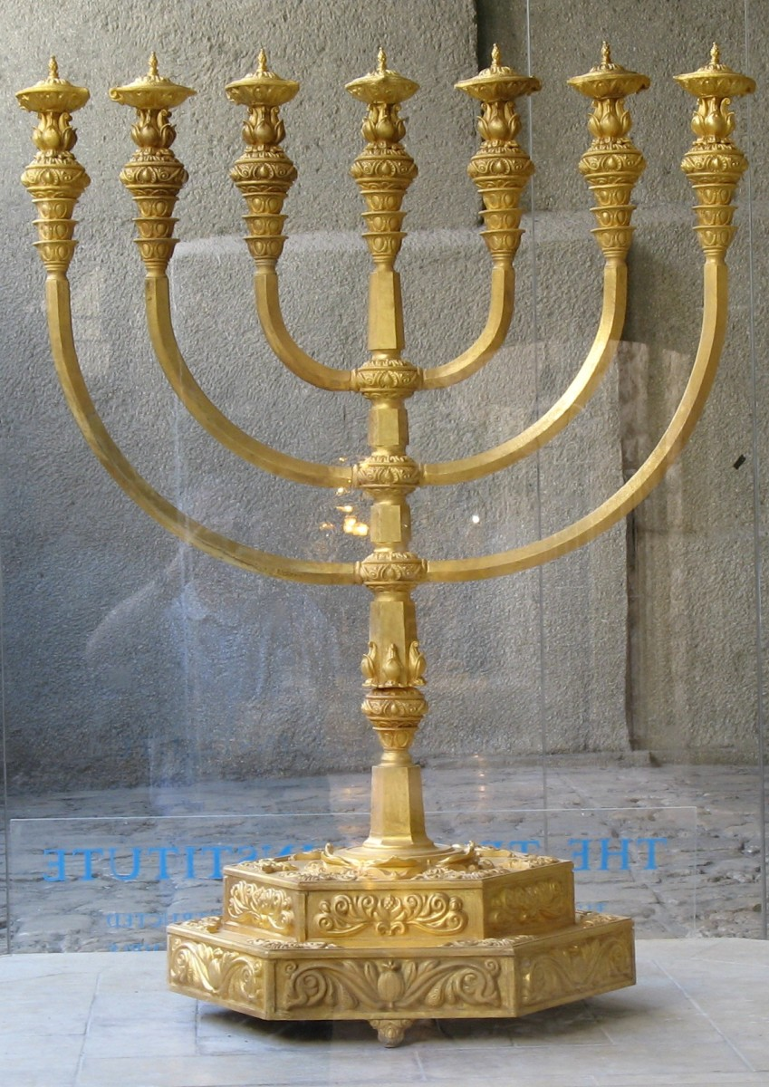 Replica of Temple Menorah