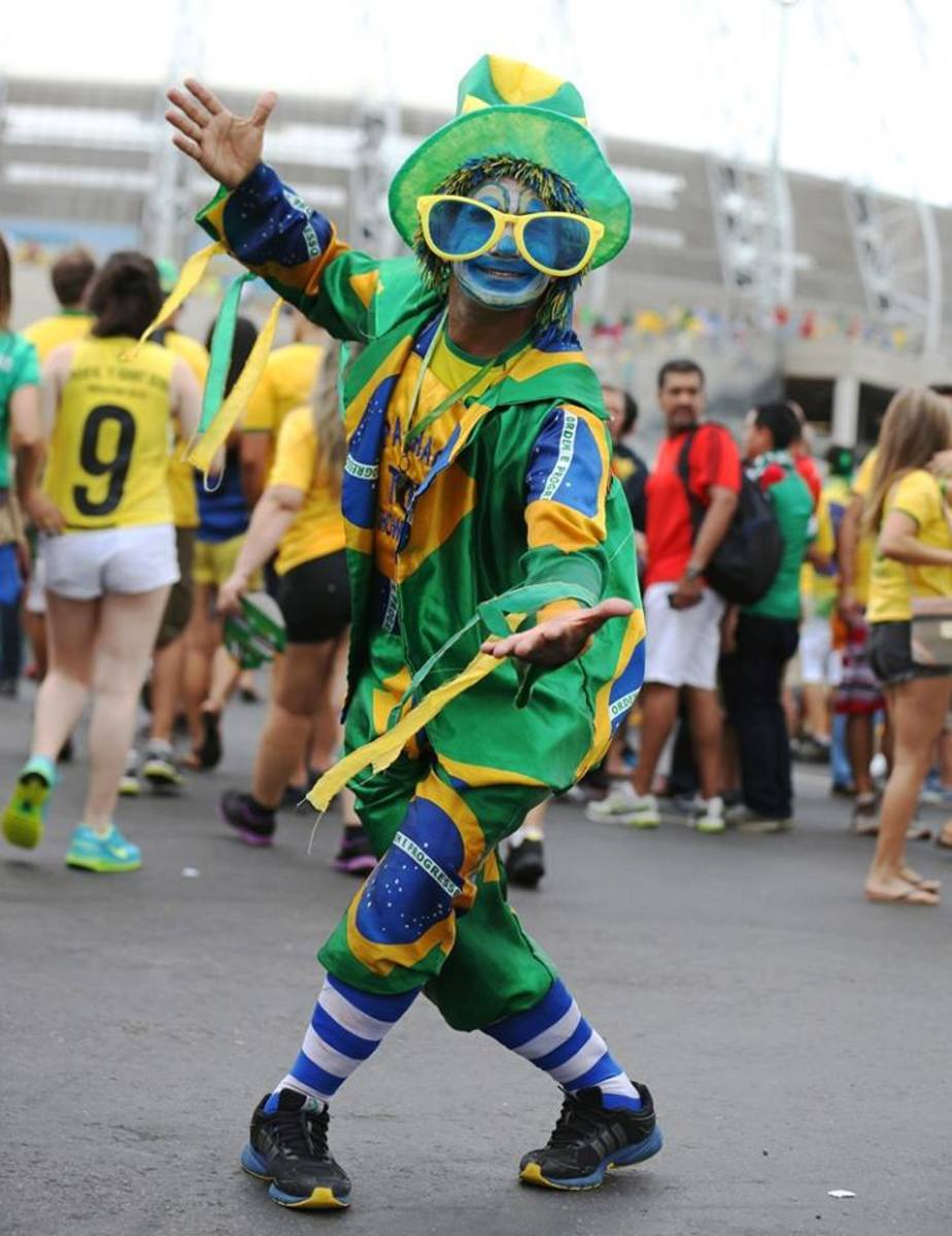 From Brazil with love, samba and soccer