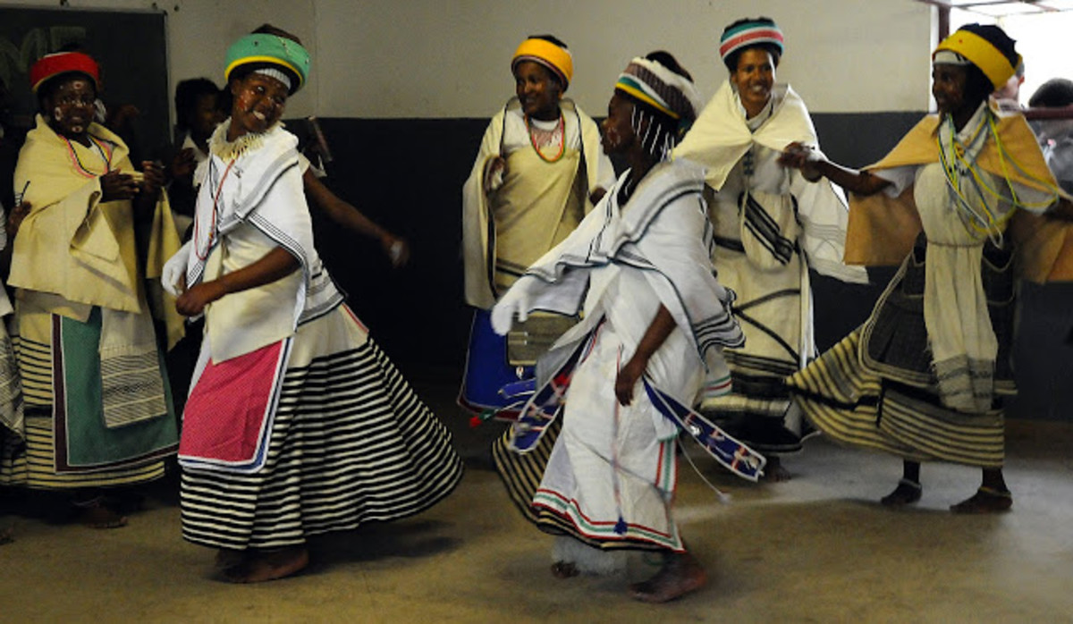Xhosa Women Dancing