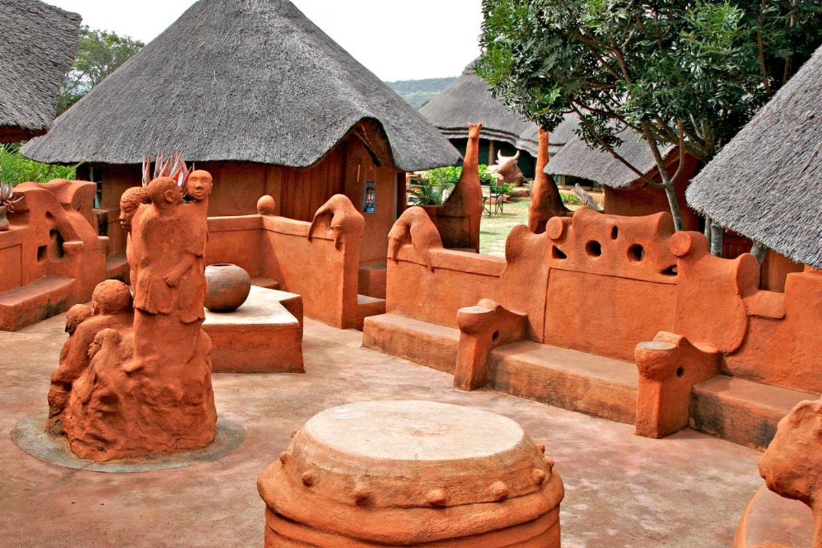 Venda Village and its art and sculpture/architecture