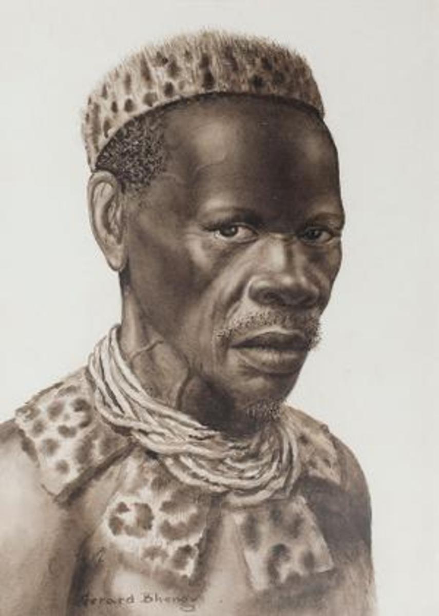Gerard Bhengu's Art...