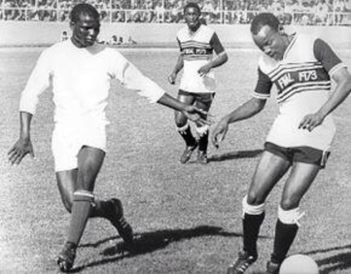 One Of The Most Devastating Striker In The golden Era Of African South African Soccer