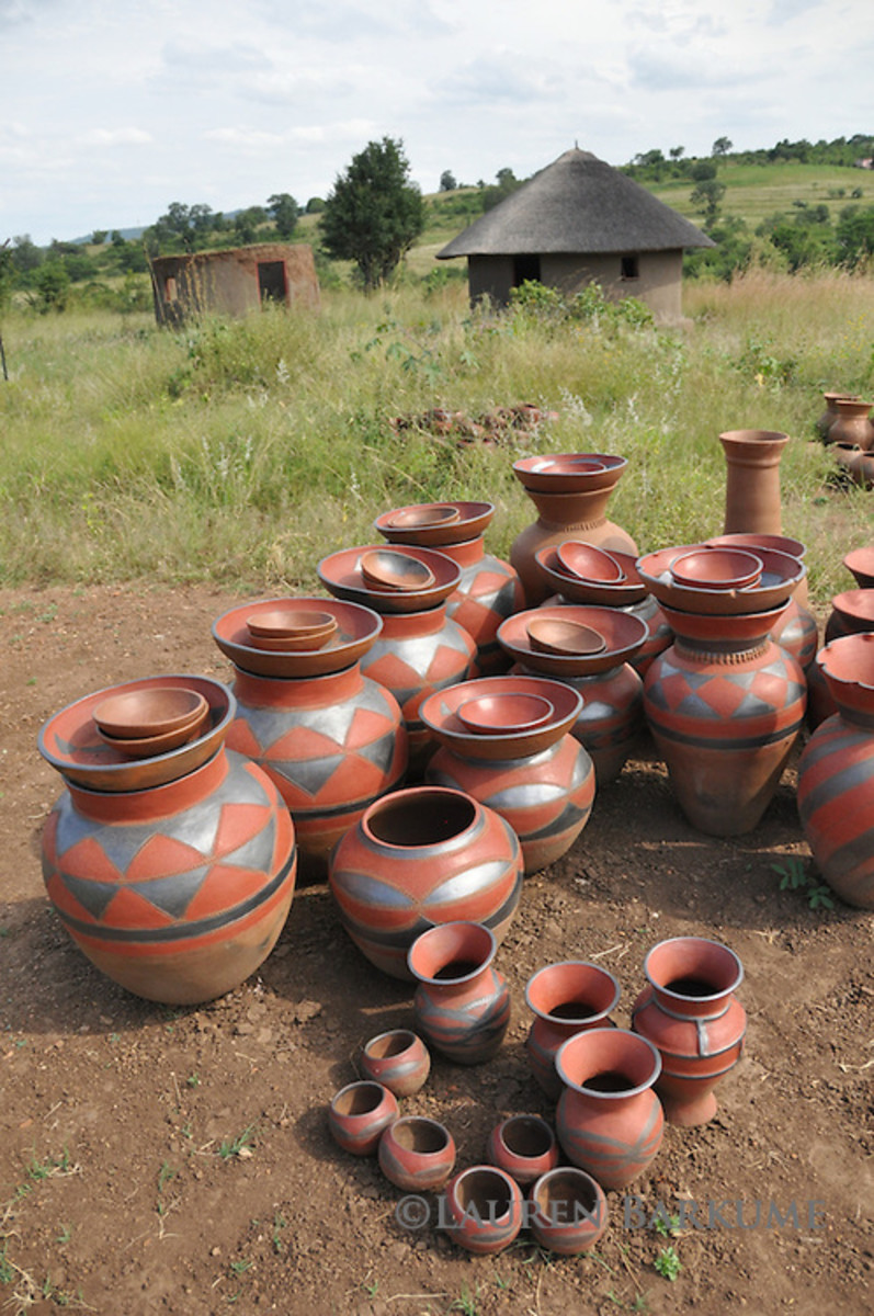 Pottery Of the Venda Poeple