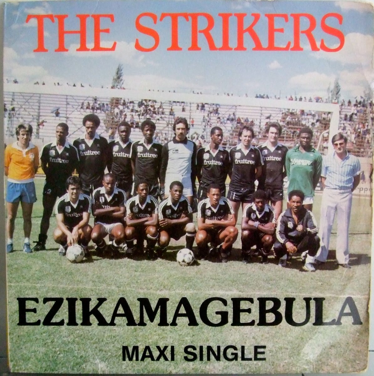 Celebrating the all conquering Orlando Pirates side that lifted the Mainstay Cup, the Benson and Hedges, Sales House Champ of Champs and BP Top Eight trophies back in the eighties. Can you pick out any of the following big names: Eric Chippa Chauke,
