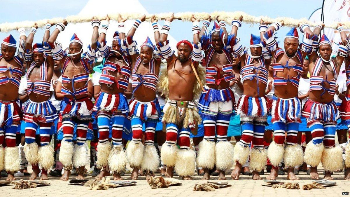 Swazi Maale Dancers