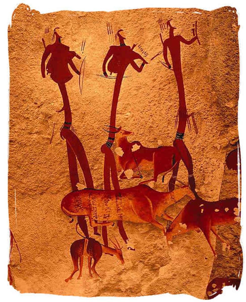 Khoisan Cave painting
