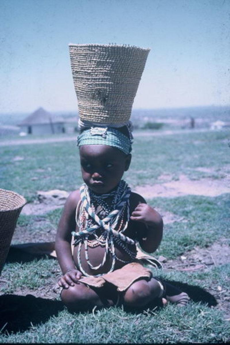 Baby Xhosa girl