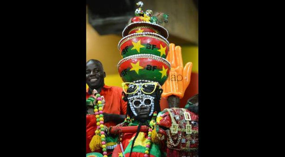Fan of his country soccer club of Ghana