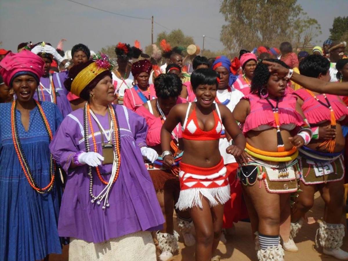 Bapedi women In A A Cultural Vibe...