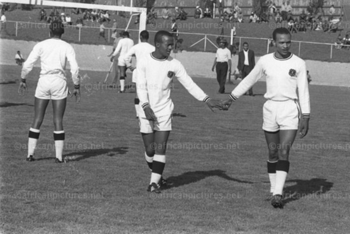 Percy Chippa Moloi on the Left...