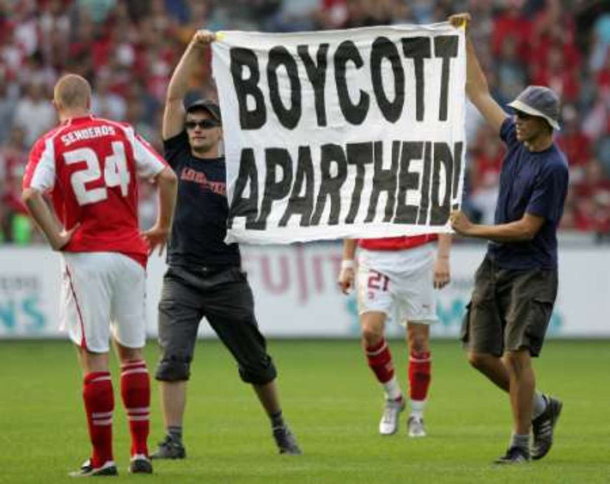 Pressure On Apartheid In The International Level And Also this was in recent protest against Occupation Of the West Bank