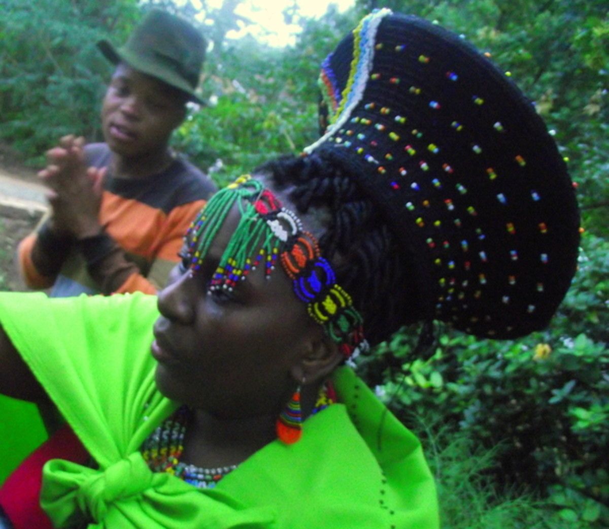 Traditional Zulu Hat Worn By Women