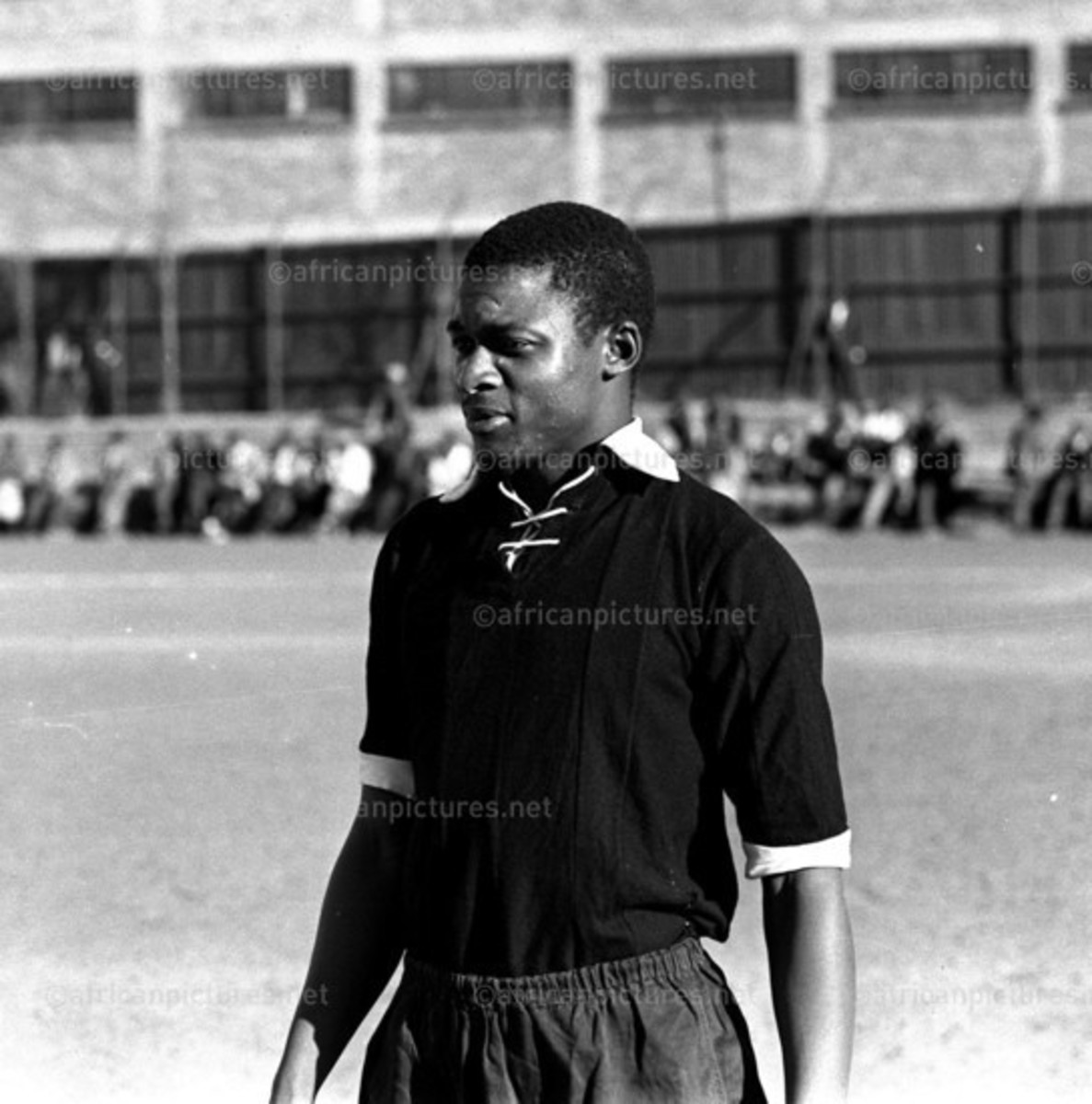 The Man Who Helped Build Pirates and The Legendary Scara Sono in BUCS uniform-He was Also the Father of Jomo Sono