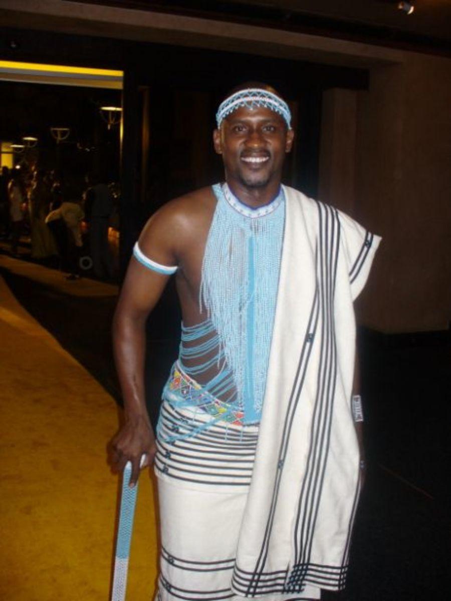 Xhosa chieftain Qula kwedini