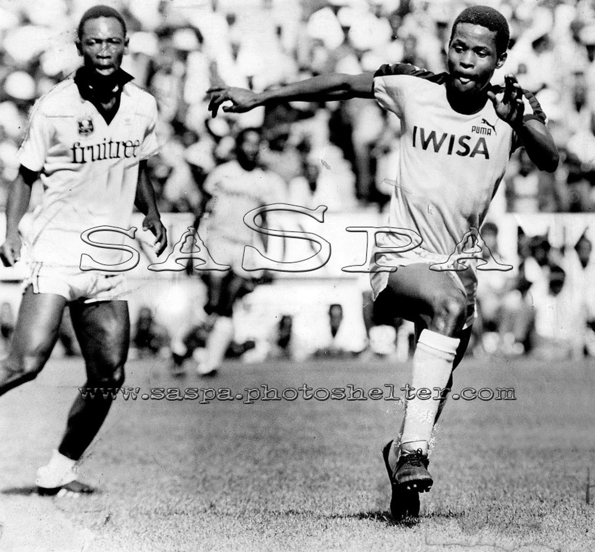 One of the most nimble and fleet footed striker and dribbler of the Golden Era of south African soccer
