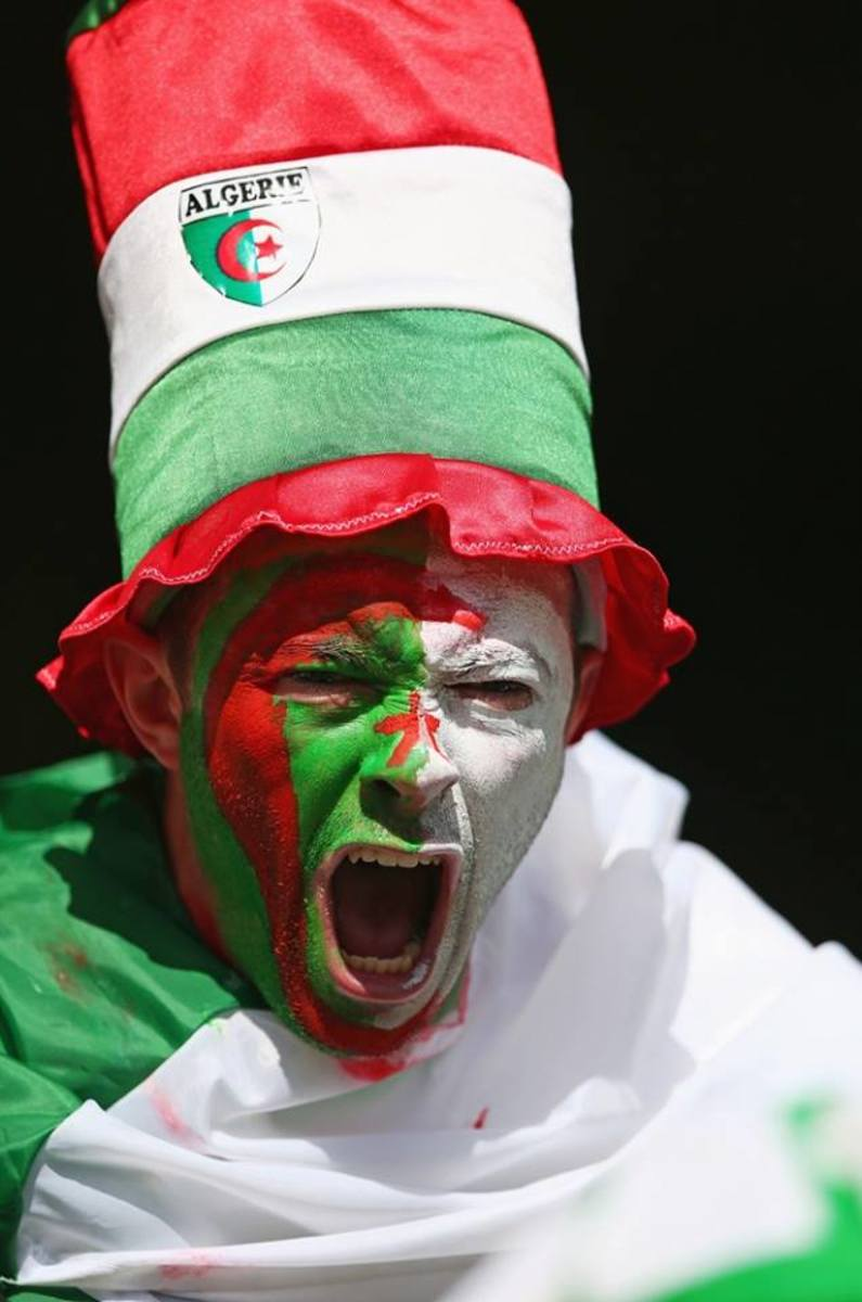 Fan from Algeria