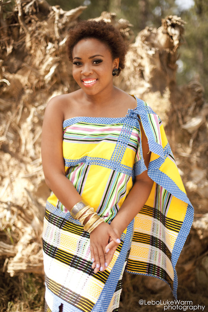 Venda traditional dress with a modern touch and taste